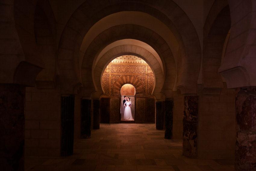 foto de boda castillo de cadiz
