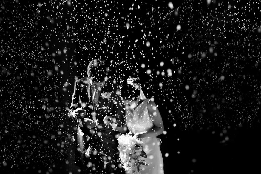 imágenes de boda en blanco y negro