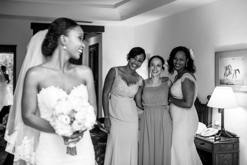 novias con sus amigas