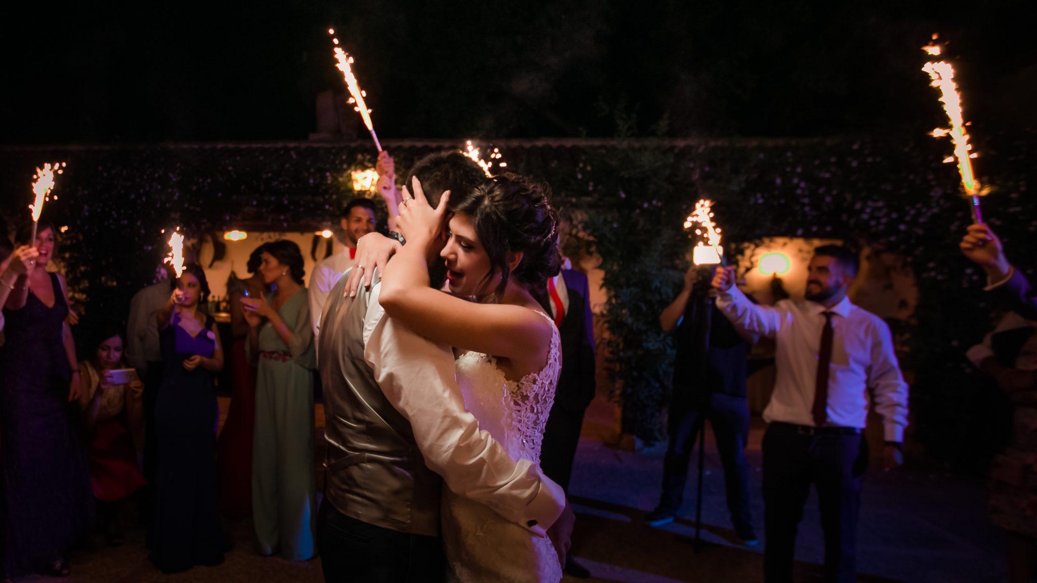 boda en finca eslava de antequera primer baile