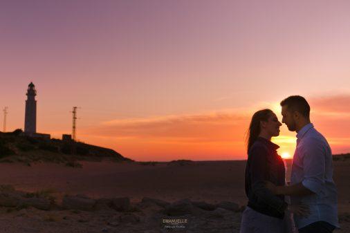 PreBoda en la Playa de Cadiz – Trafalgar