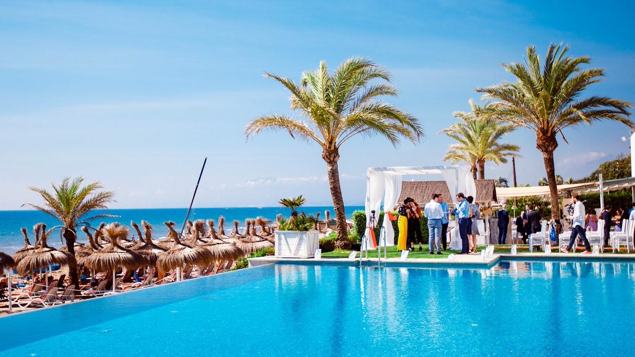 ideas para una boda en la playa de malaga