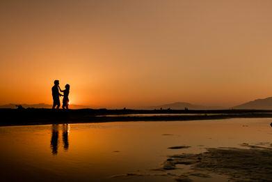 fotos de preboda en la playa de tarifa