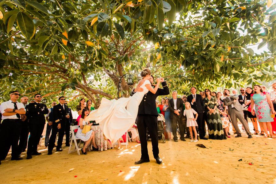 baile de novios villa fernanda málaga